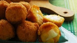 Crocchette taleggio e polenta - Antipasti della Lombardia