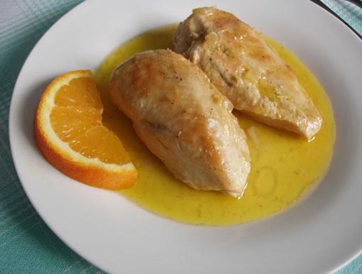 salasa de naranja