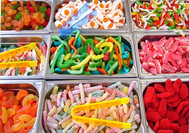 dulces al por mayor