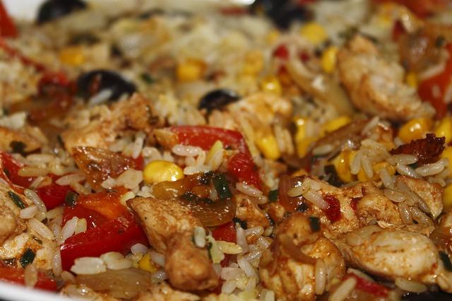 Paella del restaurante Pilsener